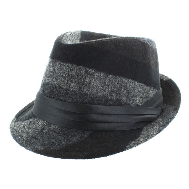Finish off your casual or semi-formal look with an iconic fedora. This fun and fashionable fedora by Faddism features a ribbon around the brim that makes it very classic. The hat can be worn by men or women.