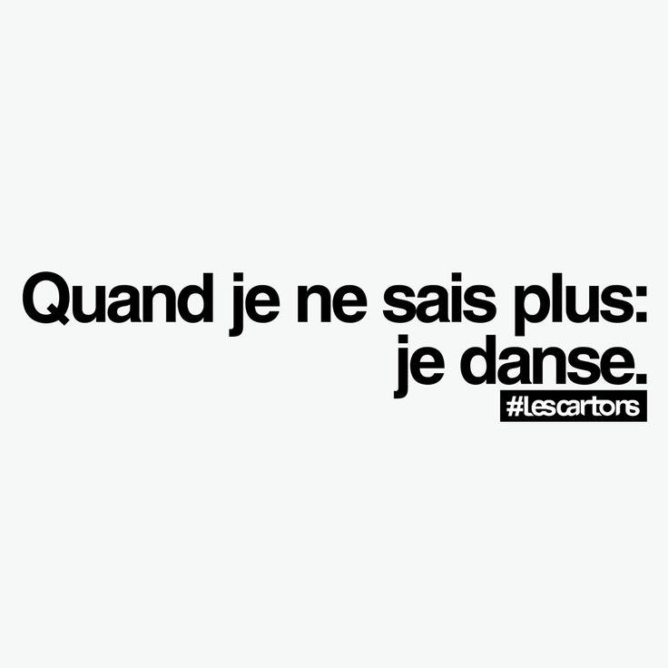 #Lescartons Oui, c'est ça, quand nous ne savons plus, dansons ! Marseille Danse Academy
