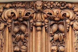 carved wood what?