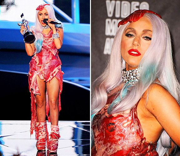 Everything You Wanted To Know About Lady Gaga's VMA Meat Dress! | MTV Style