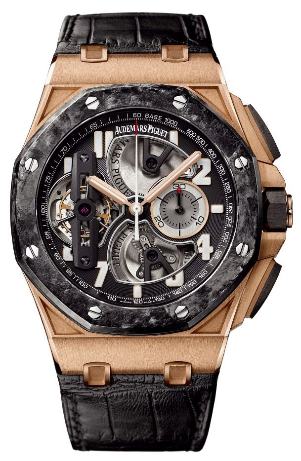 Audemars Piguet Royal Oak Offshore Tourbillon Chronograph Mens Watch Model: 26288OF.OO.D002CR.01