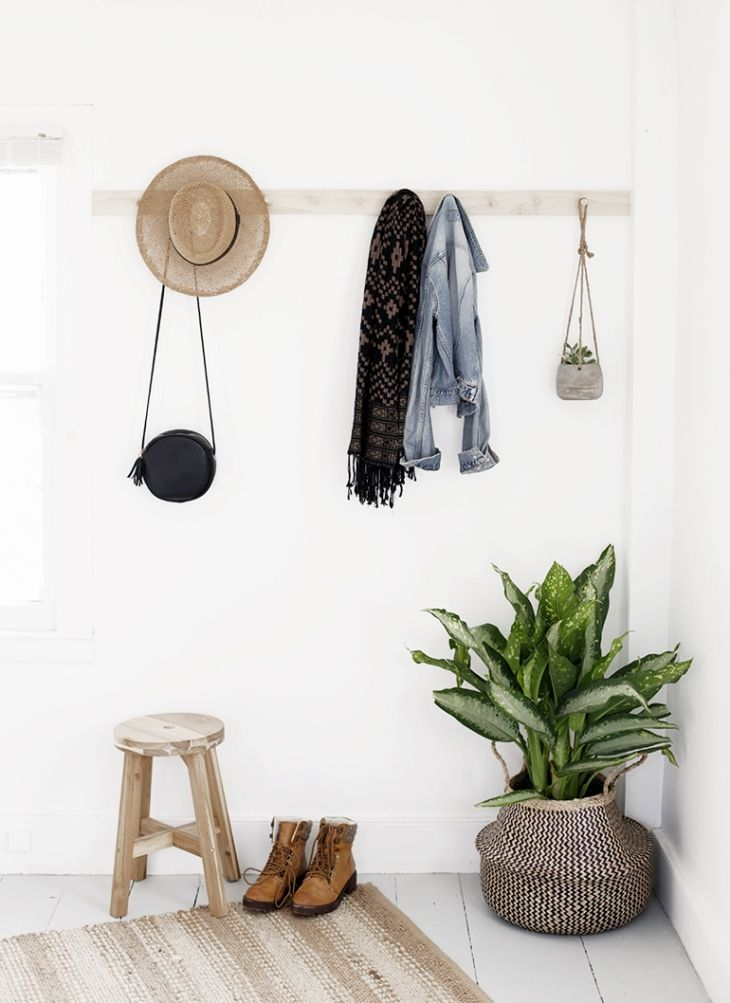 DIY Wooden Wall Mount Rack » The Merrythought