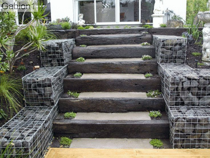 gabion design on pinterest landscaping kingston and gabion wall