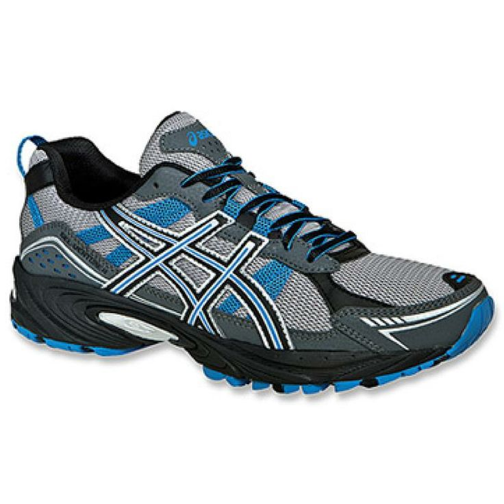 With a rugged outsole, the GEL-Venture 4 from ASICS are great for running trails. http://sneakerking.com/mensgel-venture4width4e.aspx