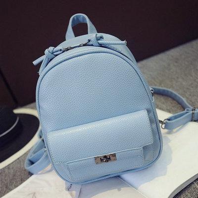 Leftside Back Pack Women Pu Leather Backpack For School Teens Girls Bags  Cool Small Bag Pack Women Multifunction Crossbody Bag 3593fc0187fac