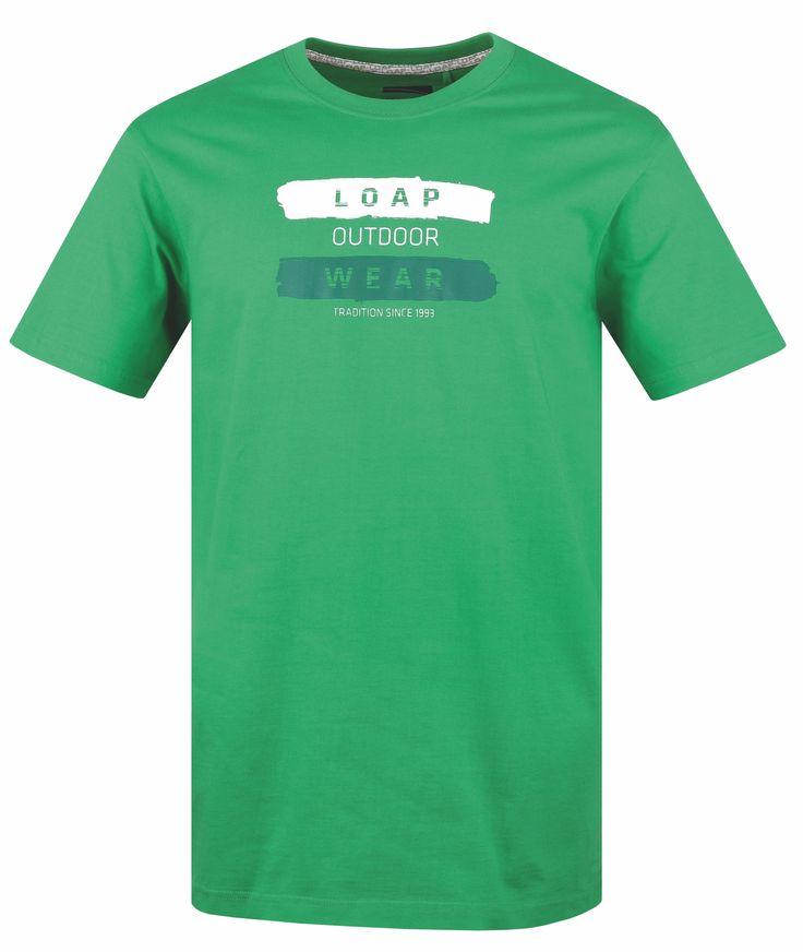 LOAP Pánské triko s krátkým rukávem ANDREAS velikost S-XXL