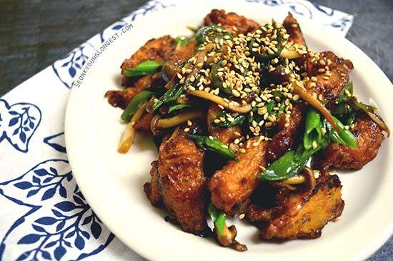 Korean Stir Fry Fishcake : 어묵볶음 : Korean Side Dish - Asian at Home