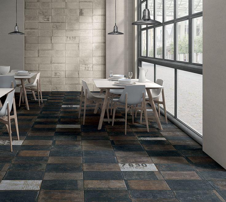 URBAN_AVENUE è un gres porcellanato effetto mattone che rende omaggio all'Industrial Design, ai loft e alle palazzine dei grandi agglomerati urbani dell'Occidente più industrializzato.