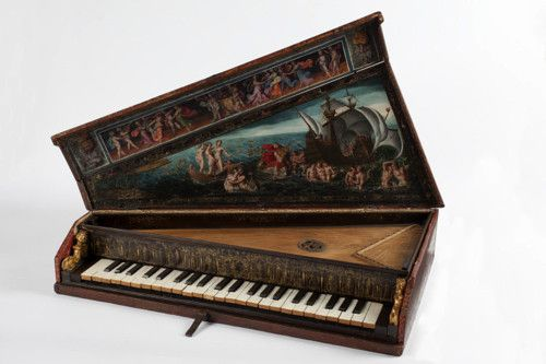 Octave spinet by unknown master [ca. 1600, Italy]
