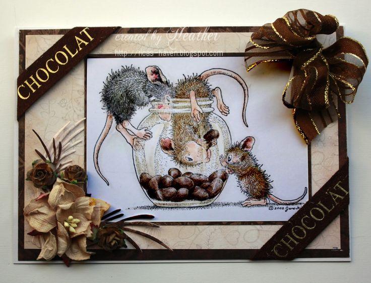 Heather's Haven: Everybody Art Challenge.................Chocolate!!