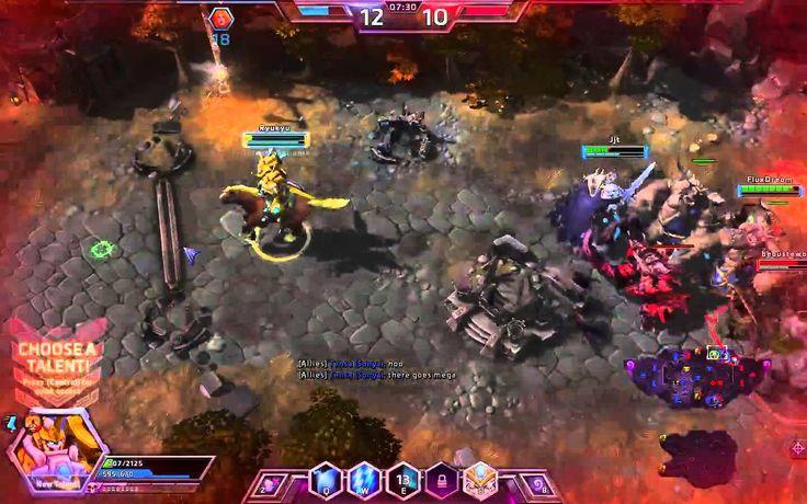 Heroes of the Storm - Tassadar Gameplay #2