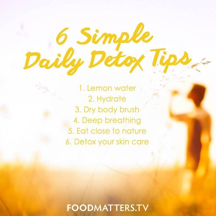 Natural Body Detox Cleanse