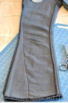 zwężenie spodni
