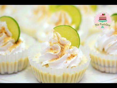 Cupcakes de limón. ¡Sin horno!