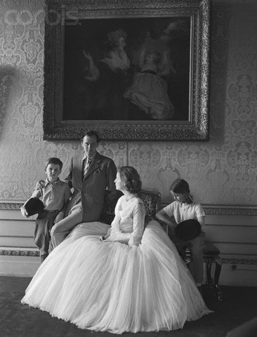 The Devonshires, photographed by Norman Parkinson 1952
