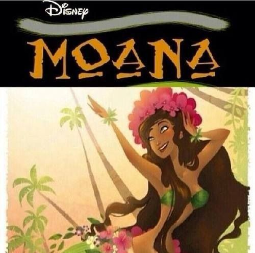 Apparently this is a NEW DISNEY PRINCESS coming out in 2018! I'll have graduated college by then, but I'm still so excited! And she's beautiful!