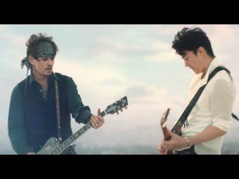 YouTube  Johnny Depp and Masaharu Fukuyama Guitar session. Japanese beer brand ASAHI Super-Dry CM