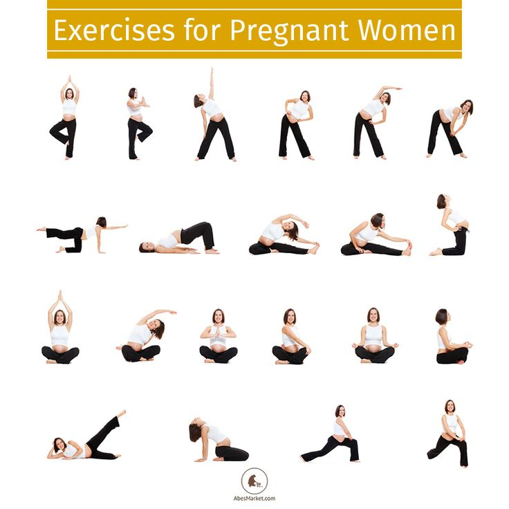 Prenatal exercises for a happy, healthy delivery.