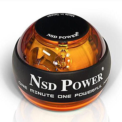 Original NSD PowerBall 250Hz Classic Power Ball Hand Gyro PB-188 AMBER