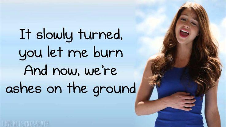 Glee - Wrecking Ball (Lyrics)--I like The Glee Version