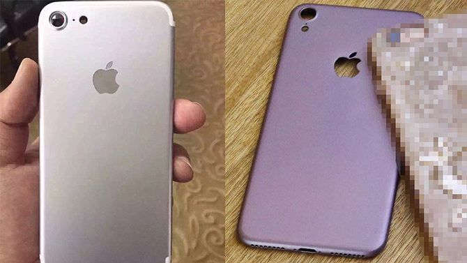 Leaked iPhone 7 photos suggest dual cameras may be reserved only for the 7 Plus