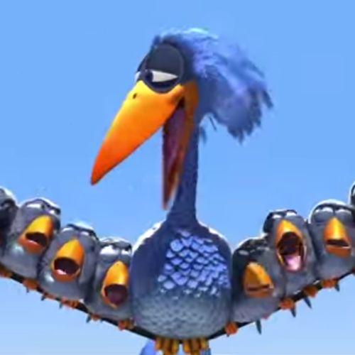 For the Birds (Pixar). Bekijk dit superleuke filmpje pesten wordt bestraft :)