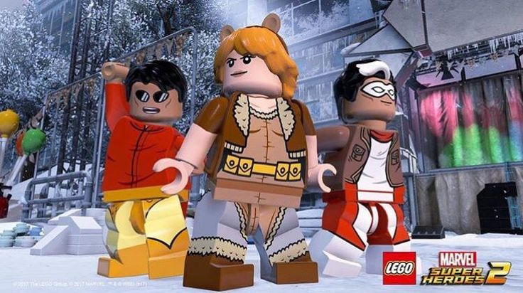This will definitely be a game for all ages. Squirrel Girl and Chipmunk Hunk confirmed for LEGO Marvel Superheroes 2!