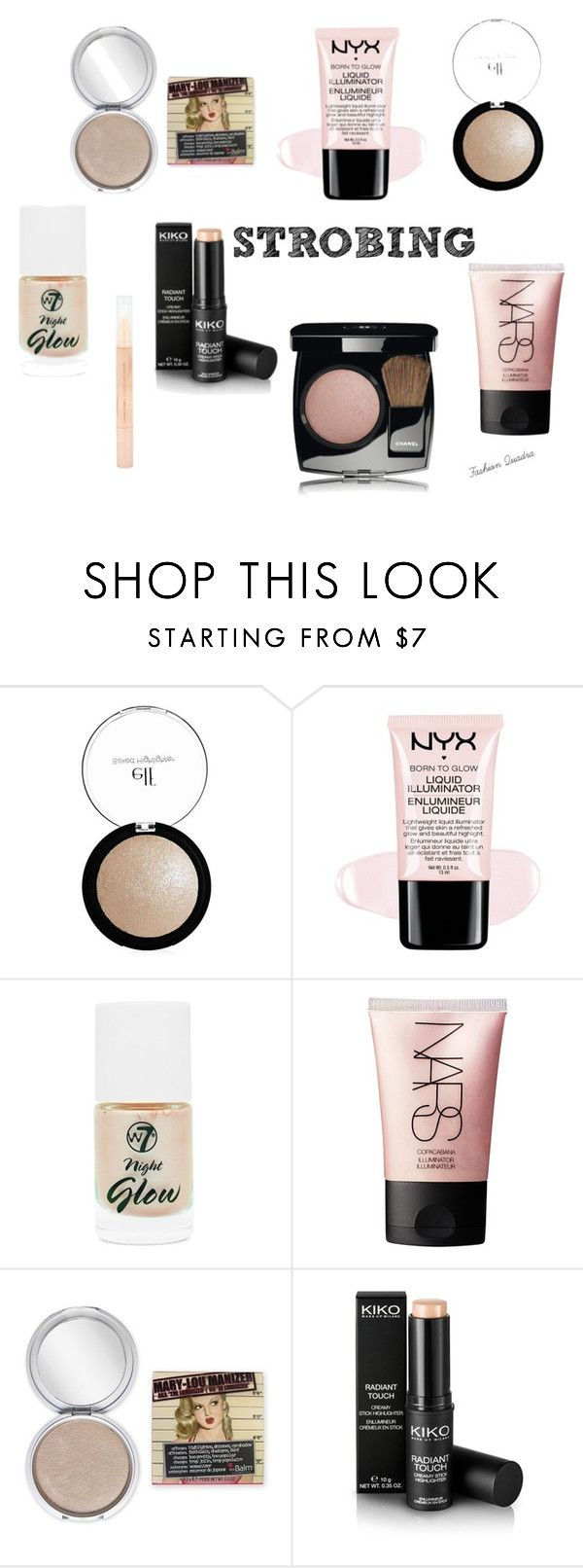 """STROBING"" by fashionquadra on Polyvore featuring beauté, Lumière, Sunbeam et NARS Cosmetics"