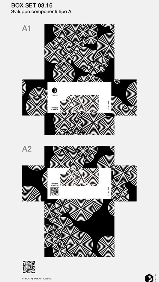 03.16 - BOX SET - KB P14 Sviluppo componenti tipo A Design by Valerio Campisi © 2016 ITEMLAB