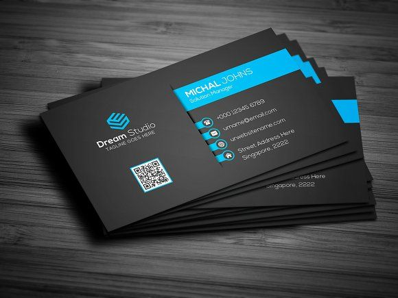 Creative Modern Business Card Professional Business Cards Modern Business Cards Sample Business Cards