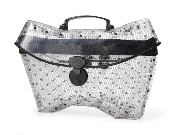 Transparent bag, Especially made for TLV Fashion week Summer 2013.                                                Order from info@collecte.co.il