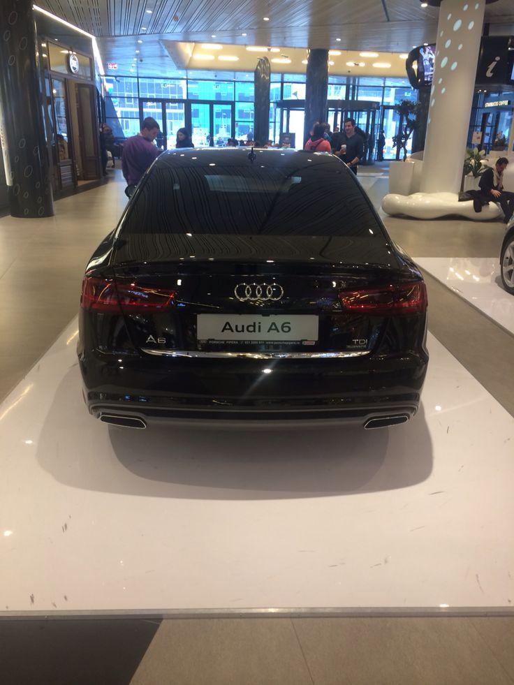 Audi A6 facelift back