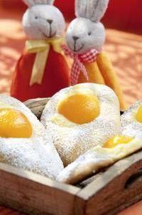 Süße Aprikoseneier - der Hingucker an Ostern