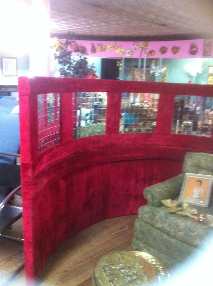 Retro red round bed circa 1960 39 s retro stuff for sale - Bedroom furniture little rock ar ...