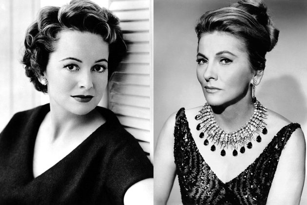 1000 images about joan fontaine on pinterest norma for Joan fontaine and olivia de havilland feud