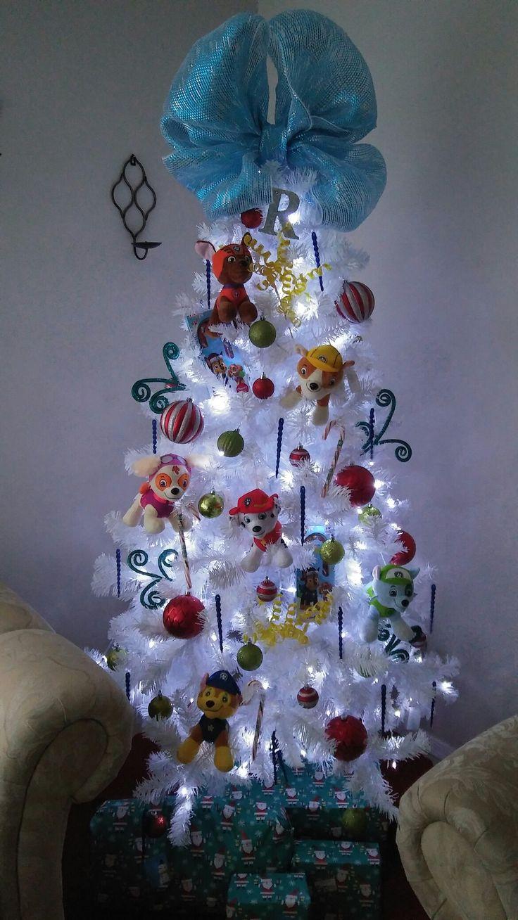 Paw Patrol Christmas Tree!