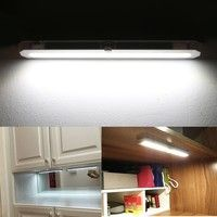 Package Content: 1 x LED Closet Light, 2 x Screw, 1 x Manual 100% Brand New. Material: Plastic Co
