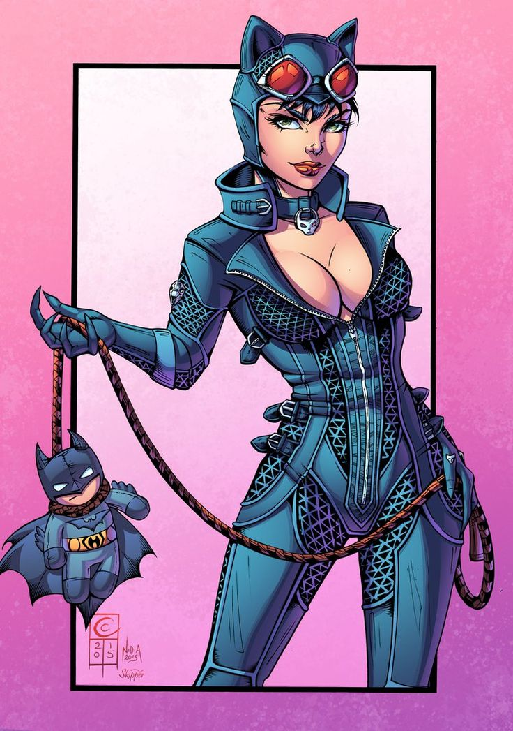 Gotham Girls: Catwoman by J-Skipper on DeviantArt