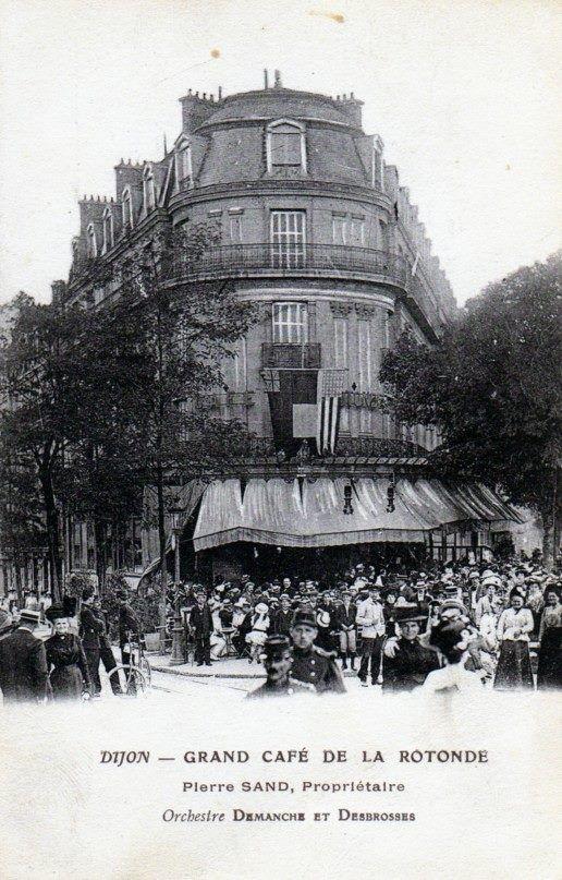 La Rotonde Dijon (aujourd'hui c'est une banque...)