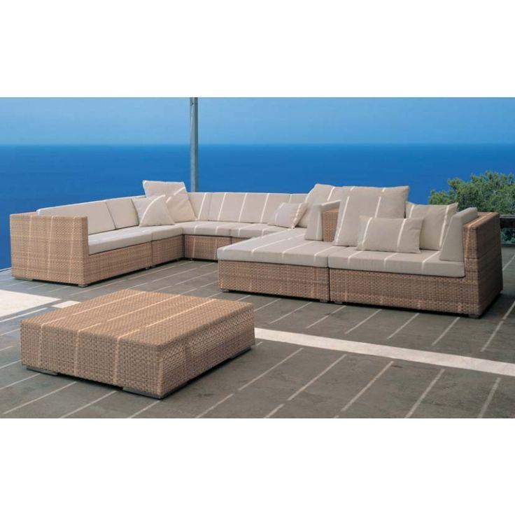 Ideal Dedon Lounge hochwertige Outdoor Gartenm bel von Dedon