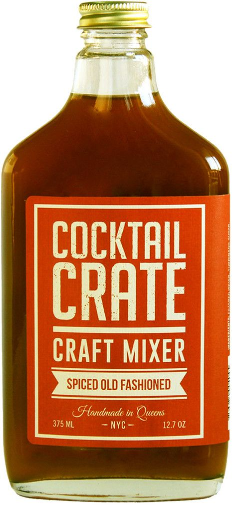 Spiced Old Fashioned from Cocktail Crate
