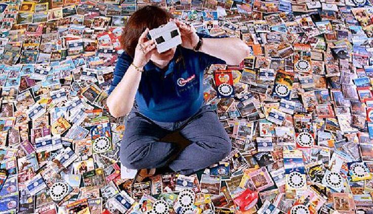 View-Masters: Mary Ann Venta tiene más de 40 mil de estos juguetes de imágenes estereoscopicas.