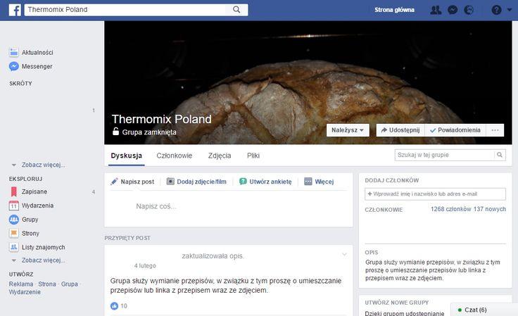 Thermomix Poland  (Facebook, grupa zamknięta)
