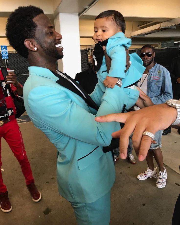 BET Awards 2017: Gucci Mane et DJ Khaled's Son Wear Matching Tuxes