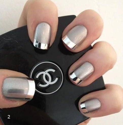 Lindisima Blog: Diseño de uñas en plateado