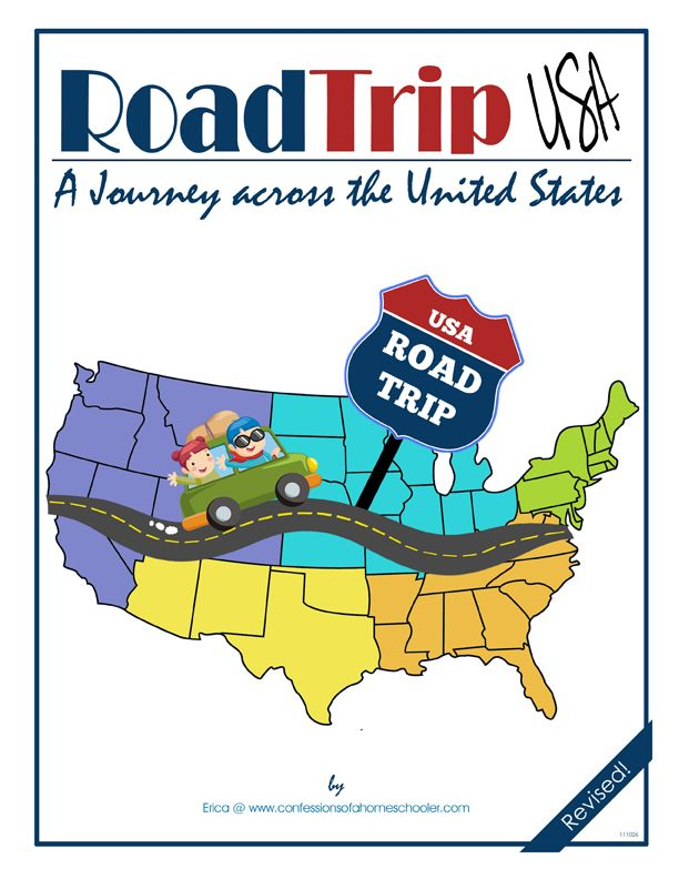 Road Trip USA Geography & History Curriculum - Come along with us on an exciting journey learning about the U.S.A! From the signing of the Declaration of Independence, to the wild west, you'll uncover all the secrets this Nation has to offer! Within this curriculum you'll discover the sights and sounds of all 50 states, including state symbols, U.S. Presidents, famous people, landmarks, historical events, and much more!