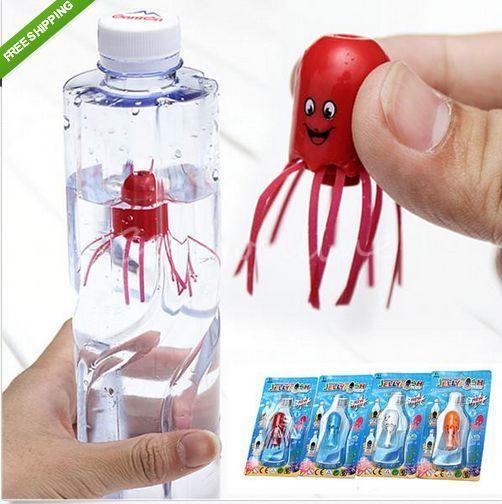 "Magic Jellyfish Float Smile Fun Science Educational Kid Toy Stocking Fillers **************************************** ללמוד את השפעת הזרמים ע""י מדוזת הקסם, המדוזה עולה ויורדת בהתאם לכוח המופעל על הבקבוק. מגיל 5 ומעלה - החל מ 6 ש""ח כולל משלוח חינם"