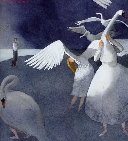 Lisbeth Zwerger - Swan Lake