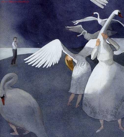 Lisbeth Zwerger - Swan Lake