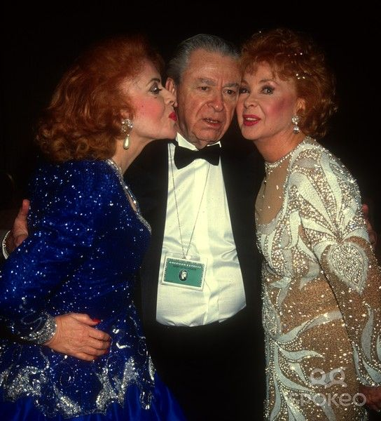Jayne kissing audrey s husband and sister audrey meadows